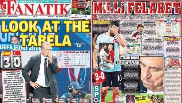 Gazete manşetleri - Gazete Oku (18 Haziran 2016)