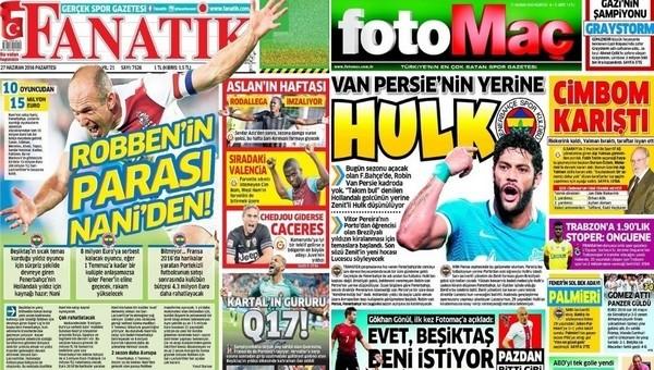 Gazete manşetleri - Gazete Oku (26 Haziran 2016)