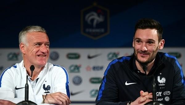 Hugo Lloris, Didier Deschamps'ı geride bırakarak Fransa tarihine geçti