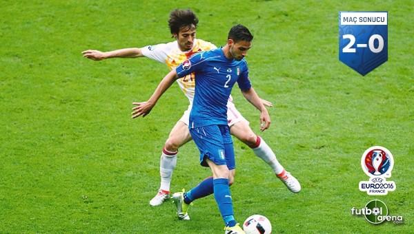 İtalya, İspanya'dan çeyrek finali kopardı