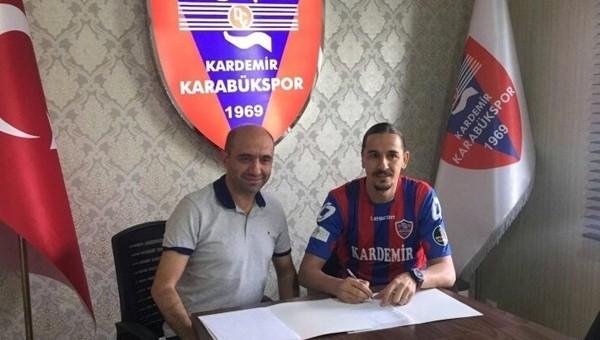 Karabükspor Haberleri: Ahmet Şahin ile sözleşme imzalandı