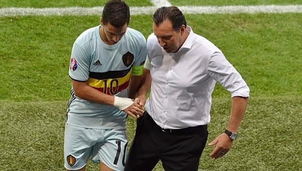 Marc Wilmots'tan Eden Hazard için FLAŞ yorum...