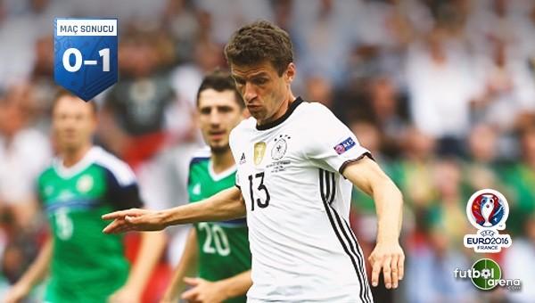 Mario Gomez attı Almanya kazandı