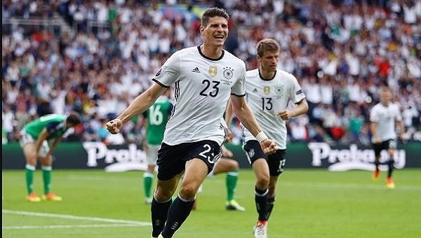Mario Gomez'den Euro 2016'da ilk gol! (İZLE)