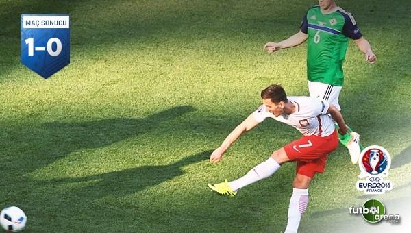 Polonya, Kuzey İrlanda'yı tek golle geçti