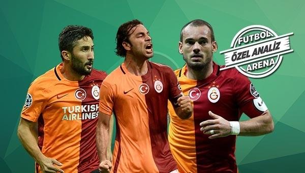 Sabri hem Sneijder'i hem Selçuk'u geçti!