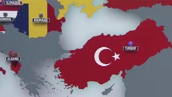 Skandal! TRT, Türkiye haritasını eksik gösterdi