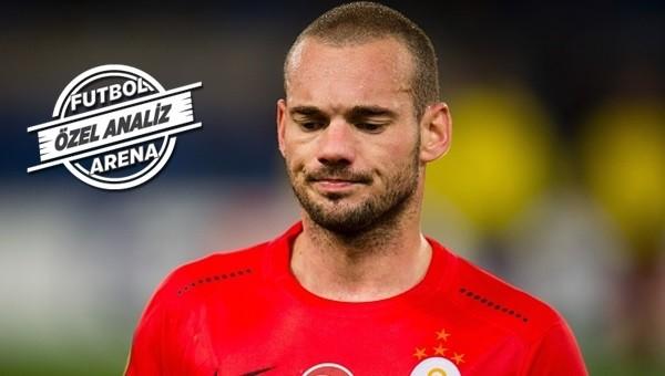Wesley Sneijder'in şaşırtan istatistiği