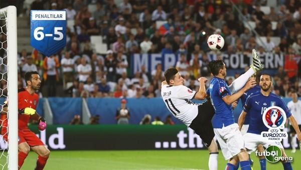 Almanya, İtalya'yı penaltılarla devirdi!