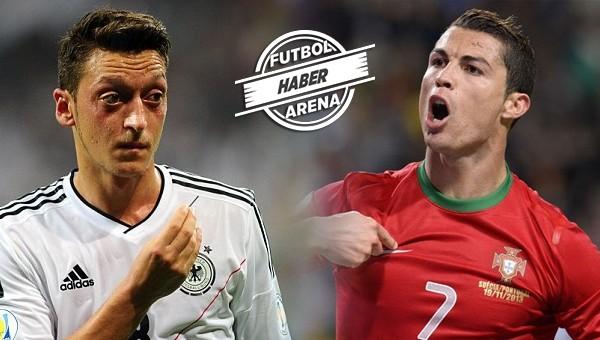 Mesut Özil'den Cristiano Ronaldo itirafı