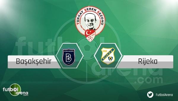 Başakşehir - Rijeka maçı ne zaman, saat kaçta, hangi kanalda?