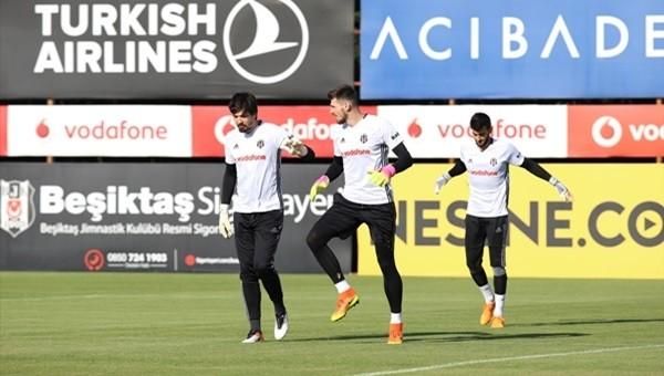 Beşiktaş Haberleri: Şenol Güneş ve Marjan Mrmic kalecilere acımıyor