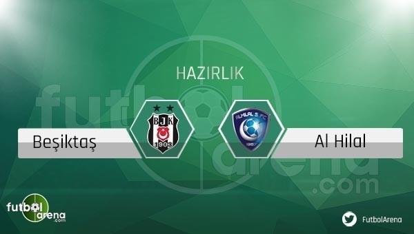 Beşiktaş'ın Al Hilal hazırlık maçı kadrosu