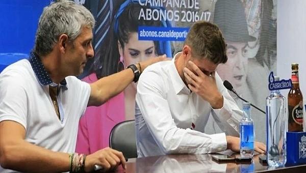 Beşiktaş'ın yeni kalecisi gözyaşlarını tutamadı