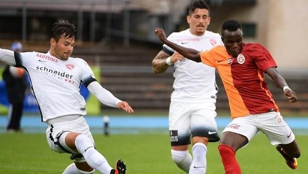 Bruma'nın performansı taraftarı umutlandırdı (Galatasaray - Thun hazırlık maçı)