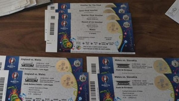 UEFA'dan Euro 2016'da sahte biletler için uyarı