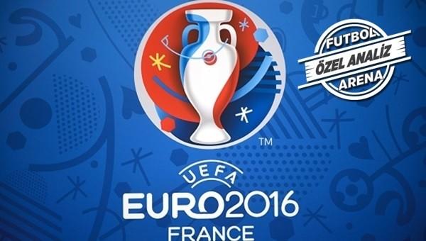 EURO 2016'nın çarpıcı istatistikleri...