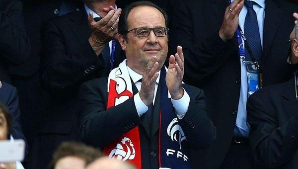 François Hollande'dan EURO 2016 finali öncesi Fransa açıklaması