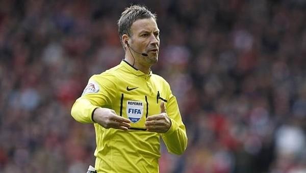 Fransa - Portekiz finali Mark Clattenburg'un