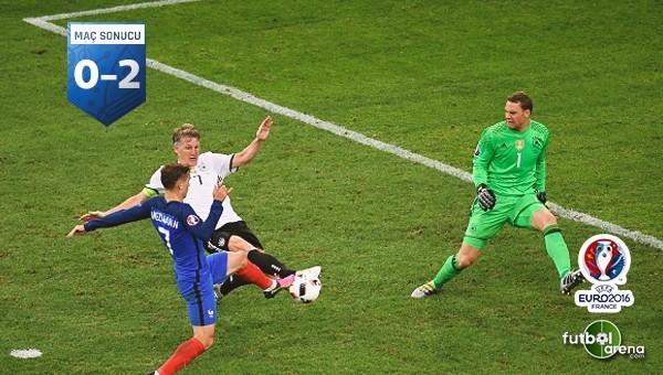 Fransa, Almanya'yı devirdi! - Fransa 2 - 0 Almanya maçı özeti ve golleri (İZLE)