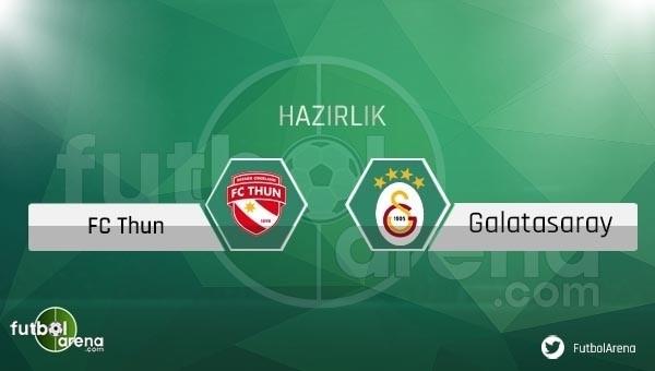 Galatasaray - FC Thun hazırlık maçı saat kaçta, hangi kanalda?