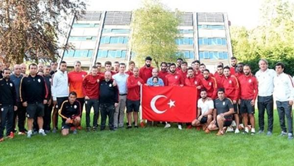 Galatasaray İsviçre'den tepki gösterdi