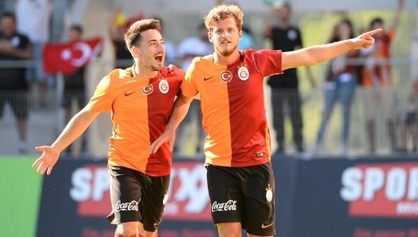 Galatasaray Zürich'i rahat geçti 3 - 0