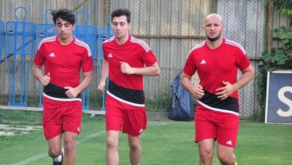 Gaziantepspor'un yeni transferi Gökhan Değirmenci ilk antrenmanına çıktı