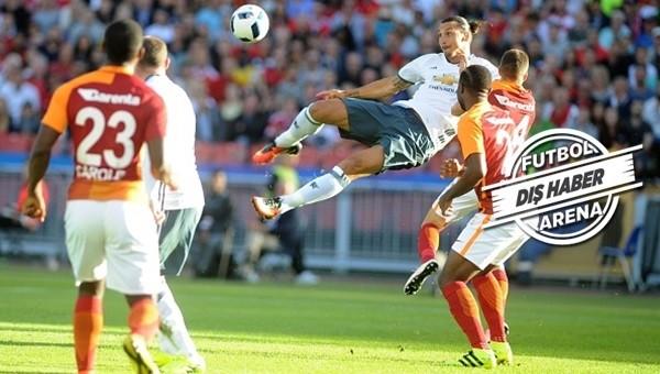 Ibrahimovic ve United manşetlerde