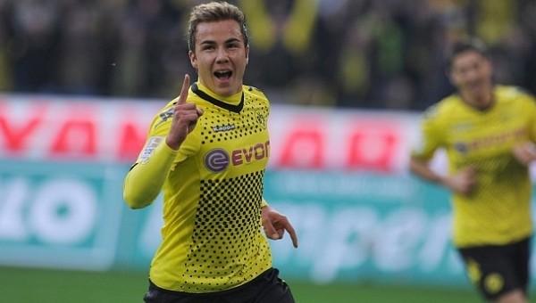 Mario Götze yeniden Dortmund'a döndü