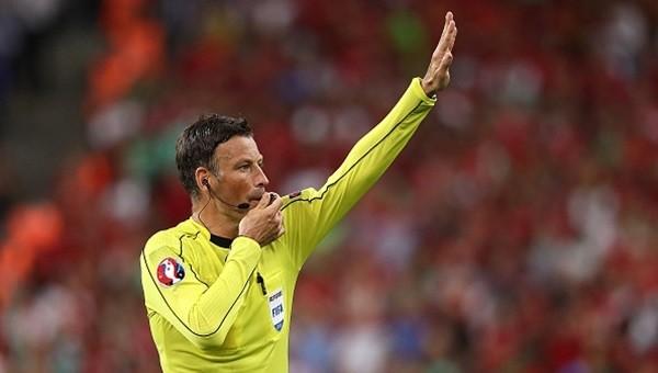 Mark Clattenburg tarihe geçti (Portekiz - Fransa Euro 2016 final maçı)