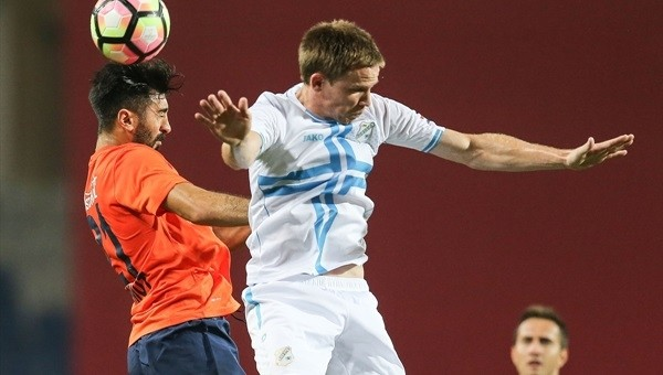 Medipol Başakşehir - Rijeka maçından gol çıkmadı