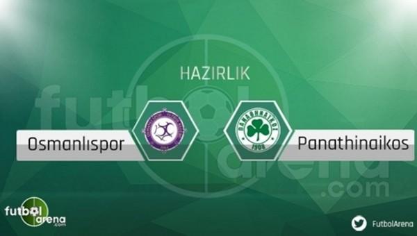 Osmanlıspor ile Panathinaikos yenişemedi