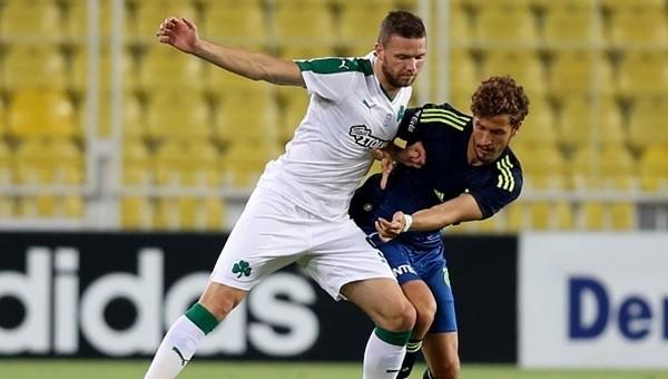 Salih Uçan Fenerbahçe - Panathinaikos hazırlık maçında göz doldurdu