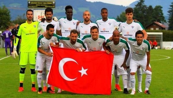 Bursaspor hazırlık maçında yarım düzine gol attı