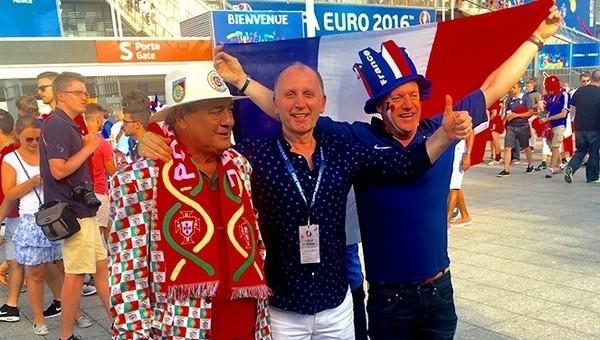 Muharrem Usta, Portekiz - Fransa finalinde