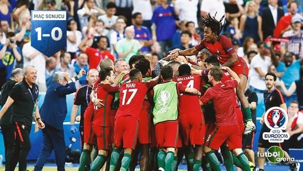 Ve Şampiyon Portekiz!
