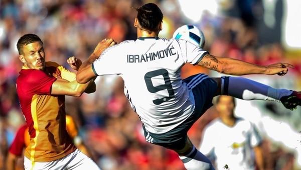 Zlatan Ibrahimovic'ten Galatasaray'a harika gol