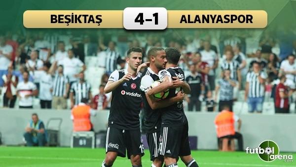 Alanyaspor Beşiktaş özeti Ve Golleri İzle: Beşiktaş'tan Dört Dörtlük Başlangıç! Beşiktaş 4