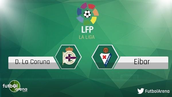 Deportivo - Eibar maçı saat kaçta, hangi kanalda?