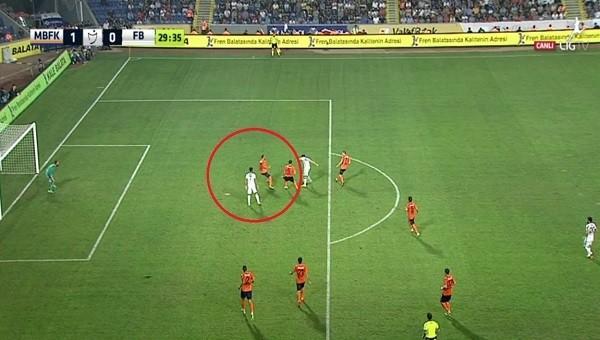 Fenerbahçe'nin golü sayılmadı! Ofsayt kararı...