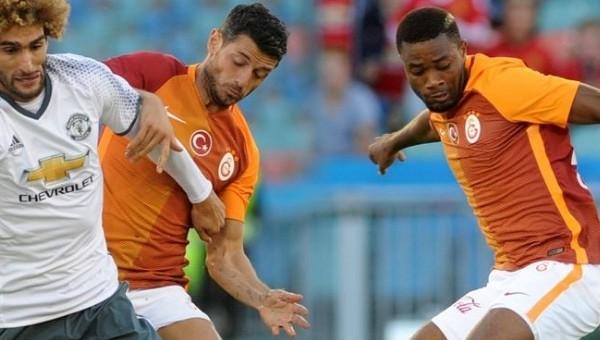 Galatasaray'da Dzemaili ve Chedjou'ya rest