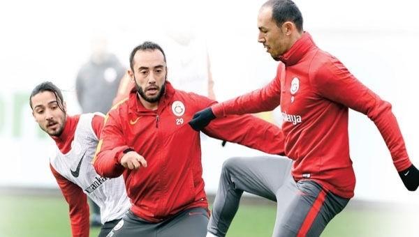 Galatasaray'ın Umut Bulut, Tarık Çamdal ve Olcan Adın planı