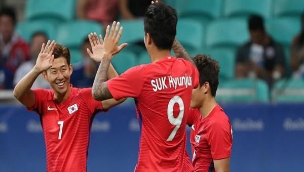 Hyun-Jun Suk olimpiyatta yine boş geçmedi