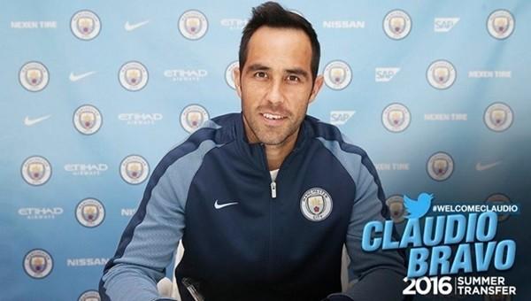 Manchester City, Bravo'yu transfer etti