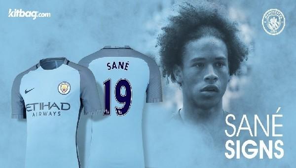 Manchester City, Leroy Sane ile anlaştı