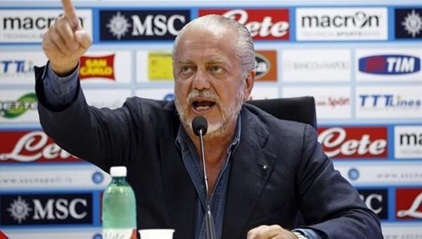Napoli Başkanı yeni transferi Twitter'dan duyurdu