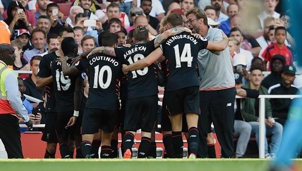 Nefes kesen maçta Liverpool, Arsenal'i devirdi