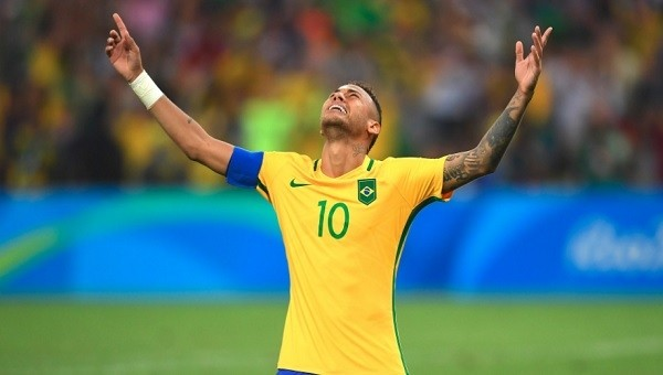 Neymar attı, Brezilya altın madalya kazandı