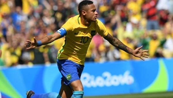 Neymar Olimpiyat rekoru kırdı!